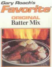 Mr Walleye  Gary Roach's original Batter Mix